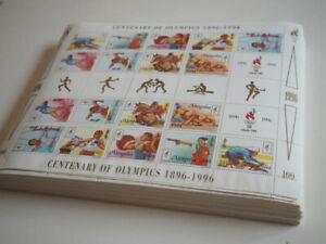 1996 Mongolei; 200 Serien Olympische Spiele in Bögen, **/MNH, DEKORATIV!!!