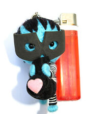 1x Random Colour Stole My Heart Robber Thief Voodoo String Doll Keyring Charm