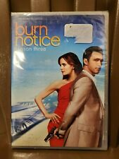 BURN NOTICE Season (3) Three DVD 4 disc set - Sealed/New