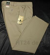 CLUB of COMFORT Chino Hose GARVEY 6510 beige/khaki Gr. 25 High Stretch schlank