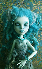 Monster High repaint custom doll OOAK custom Honey Swamp, doll collectors
