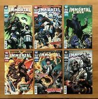 """Immortal Men 1,2,3,4,5,6 2018 Main Covers """"Dark Nights Metal"""" DC Comics NM"""