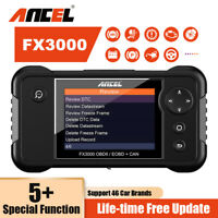 Professional Vehicle OBD2 Scanner Diagnostic Tool ABS SRS BMS EPB SAS Reset Tool