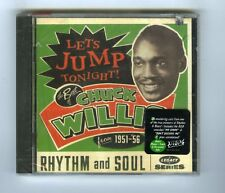 CHUCK WILLIS CD (NEW) FROM  1951>56 LET'S JUMP TONIGHT
