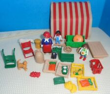 Playmobil Lot Parts from PRODUCE MARKET STAND 5341 for the Victorian dollhouse