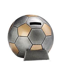 Fußball-Spardose mit Wunschgravur (39374)