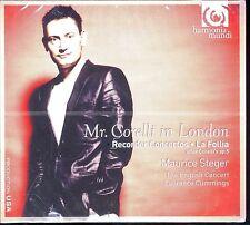 Maurice Steger Mr Corelli in London CD NEW Recorder Concertos La Follia
