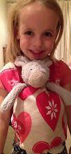 Baby doll toy bear Vettore/Sling perfetto per ragazzi e ragazze-CUORI ROSSI