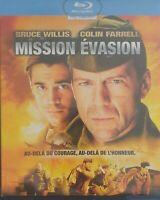 Blu Ray : Mission Evasion - Bruce Willis - Ed Slim - NEUF
