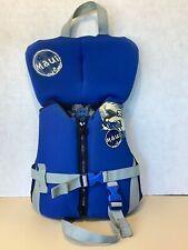 Maui & Sons Infant Water Life Vest Life Jacket Up To 30Ibs Blue Black