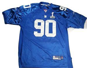Reebok On Field NFL New York Giants Jason Pierre-Paul 90 Superbowl Jersey 54 |B2