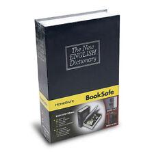 Dictionary Secret Book Safe with Key Lock Cash Money Jewelry Hidden Storage Box