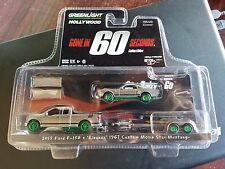 GREENLIGHT GONE IN 60 SECONDS 2015 FORD F-150 ELEANOR MUSTANG CHASE CAR 31030-C