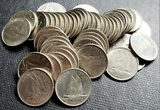 Lot of 50x 1970 Canada 10 Cent Coins - Good Date Dimes - Great Condition