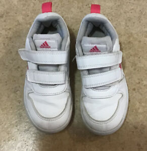 Adidas TENSAURUS Grey Pink Shoes Trainers Size 10k 9.5