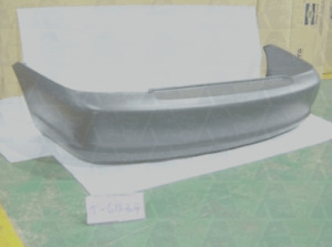 REAR BUMPER BAR COVER FOR TOYOTA ECHO NCP10 2002-2005