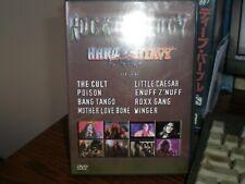 ROCKTHOLOGY HARD N HEAVY DVD poison the cult mother love bone winger enuff znuff