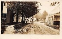 New York NY Postcard Real Photo RPPC 1907 HOLMESVILLE Homes New Berlin Homes
