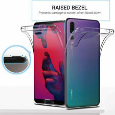 For Huawei P20 Pro Case Cover 360° Silicone ShockProof Gel Case Protective Slim