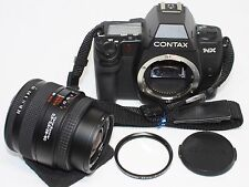Contax NX Body Data Back D-11 w/ Carl Zeiss Vario-Sonnar 28-80mm F3.5-5.6 Lens