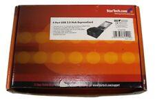 New StarTech.com EC400USB 4 Port ExpressCard Laptop USB 2.0 Adapter Card