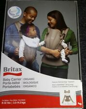 NEW Britax Baby Carrier Organic Tan FREE SHIPPING