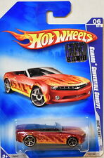 HOT WHEELS 2009 HEAT FLEET CAMARO CONVERTIBLE CONCEPT #06/10 FACTORY SEALED