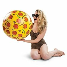 Giant Pizza Beach Ball 20 Inches Inflatable Beach Ball Pool Party Water Toy BNIB