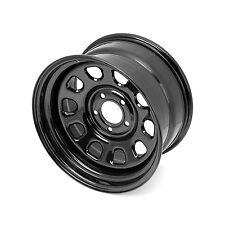 "Jeep Wrangler JK Black Steel Wheel 17""X9"" 5x5""  2007-17 15500.70 Rugged Ridge"