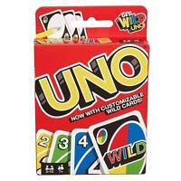 ORIGINAL UNO CARD GAME WITH WILD CARD - CARD GAME - 112 cards 2019 UK SELLER