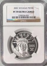 2001-W P$100 Platinum Eagle NGC PF-70 Ultra Cameo