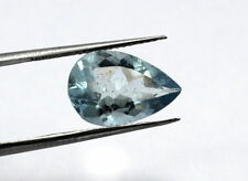 3.40 Carat Natural Aquamarine Loose Gemstone 13.5X9mm Pear Faceted Cut S231