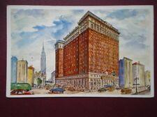 POSTCARD USA NEW YORK HOTEL STATLER