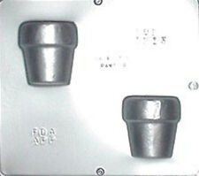 Flower Pot Assembly Chocolate Candy Mold  1213 NEW
