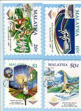 MALAYSIA MAXIMUM CARDS * 1989 SEA GAME XV KL # 930