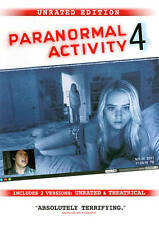 Paranormal Activity 4: Unrated Edition - *Dvd Disc Only* - Not In Original Case