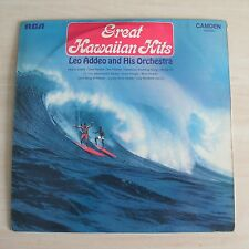 LEO ADDEO AND HIS ORCHESTRA AND CHORUS - Great Hawaiian Hits (Vinyl Album)