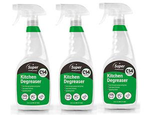 Kitchen Degreaser 3 x 750ml C14 Super Professional