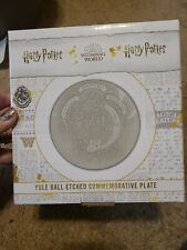 Loot Crate Yule Ball Etched Commerorative Plate Wizarding World Harry Potter New