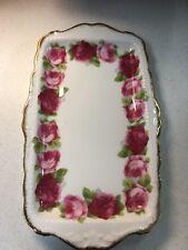 Royal Albert Old English Rose - Fine Bone China Serving Tray/Sandwich Plate
