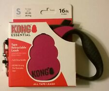 KONG ESSENTIAL TAPE RETRACTABLE LEASH 16FT FOR DOGS UP TO 45LBS SIZE S FANDANGO