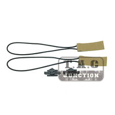 Tactical Goggle Boogie Bungee Cord Hook-and-Loop Strap w/ Post Rail Mounts