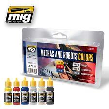 Ammo Of Mig Jimenez Robots and Mechas Colors # 7127