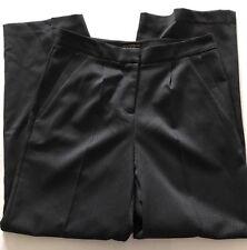 BNWT Paul Costello Black Label. Peg Front Black Trouser. Size UK 12