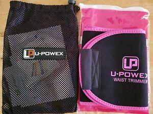 """U-Powex Waist Trimmer For Men & Women Pink & Black Size Medium 41""""L x 8""""W"""