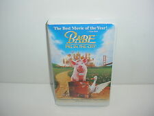 Babe Pig In The City VHS Video Tape Movie Clamshell