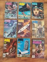 lot 9 Analog SCIENCE FICTION Science fact vtg magazines 1976 -1982 Weather War