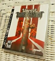 Unreal Tournament III (Sony PlayStation 3 PS3, 2007) Complete Tested Cleaned VG