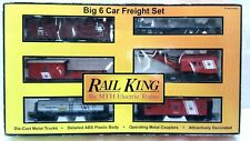 MTH 30-7003 JERSEY CENTRAL 6 CAR FREIGHT SET    MTH JERSEY CENTRAL FREIGHT SET