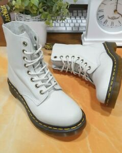 NEW!! Dr Martens Soft Pascal Stone Boots Size UK 3